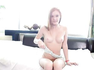 Teen Redhead Fuck And Facial With A Big Dick Dude