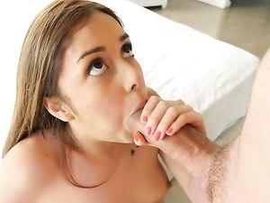 Pretty Masturbating Teen Really Needs To Get Fucked