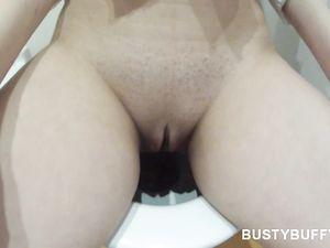 Massive Boobs Girlfriend Gives A Great POV Titjob