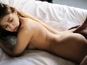 Erotic Foreplay And A Fuck With This Small Tits Girl