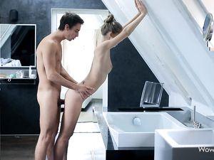Irresistible Teen Hottie Loves His Dick Inside Her