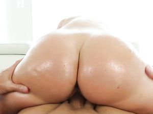 Fine Ass Teenager Oiled Up And Fucked Passionately