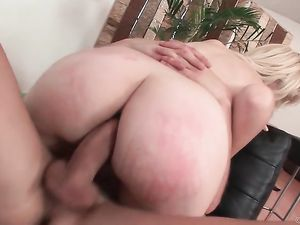 Hard Anal Sex Gapes The Asshole Of A Skinny Blonde