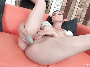Short Hair Teen Babe Goes Home With Him For Anal Sex