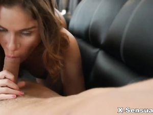 Fucking Her Teen Vagina Makes Him Cum Inside Her
