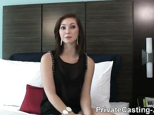 Casting Sex With A Smoking Hot Redheaded Slut