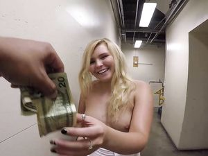 Curvy Ass Teen Takes Cash To Fuck Like A Slut