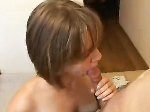 Tight Pussy Teen Bends Over The Table For His Cock