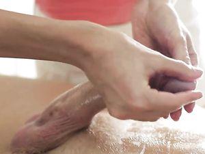 Happy Ending Massage Babe Makes Him Cum Hard