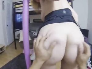 Sucking Cock In Public Makes Her Pussy All Wet