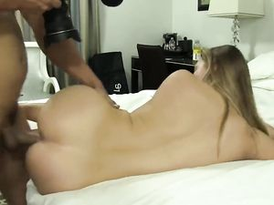 Sweet Blonde Gets Slutty In Her First Fuck Scene