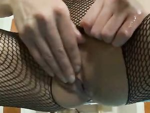 Flawless Skinny Teen Body In A Beautiful Body Stocking
