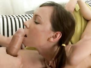 Teen Pussy And Asshole Are His To Fuck All Day