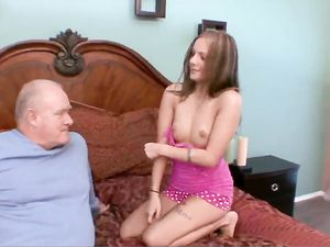 Big Cock Grandpa Fucks An 18 Year Old Slut