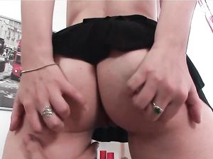 Adorable European Girl Pounded Anally