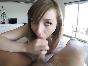 Ariel Skye Makes Beautiful POV Hardcore Porn