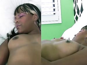 Amateur Black Girl Makes A White Dick Cum Hard