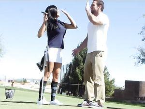 After Golf Hardcore Fucking With Audrey Bitoni