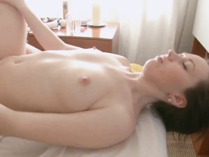 Young Cutie On His Massage Table Gets Fucked