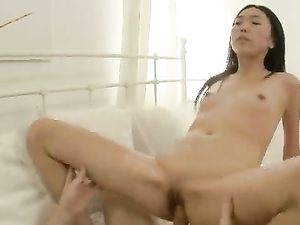 Asian Teen Sweater Girl Stripped And Fucked