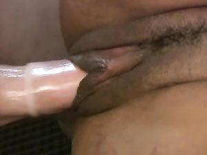 Interracial Fucking Of A Young Ebony Cutie