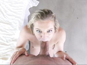 Handjob And Blowjob Before Doggy Style Fucking