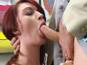 Naughty Redhead Schoolgirl Fucked By The Teacher