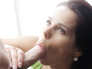 Sexy Blowjob And Handjob Before Getting Fingered